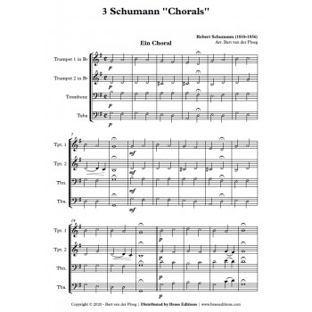 3 Schumann ''Chorals'' - FLEX