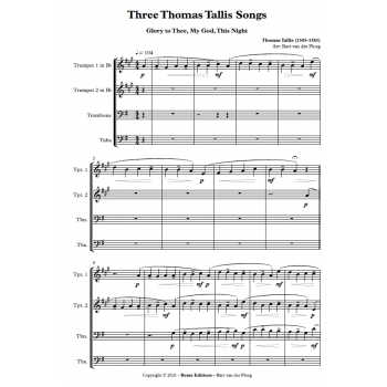 Three Thomas Tallis Songs -...